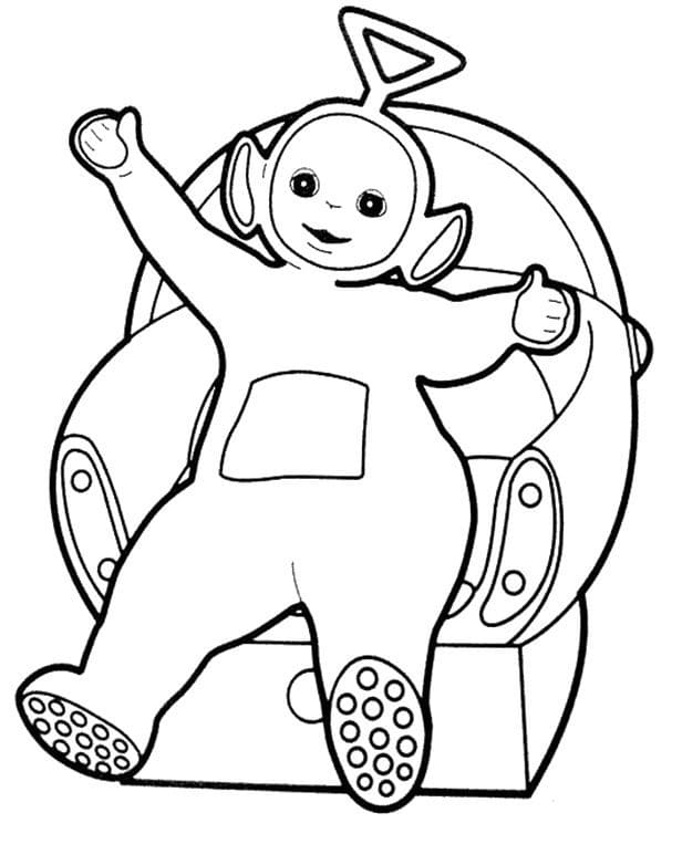 Desenhos de Tinky-Winky 3 para colorir