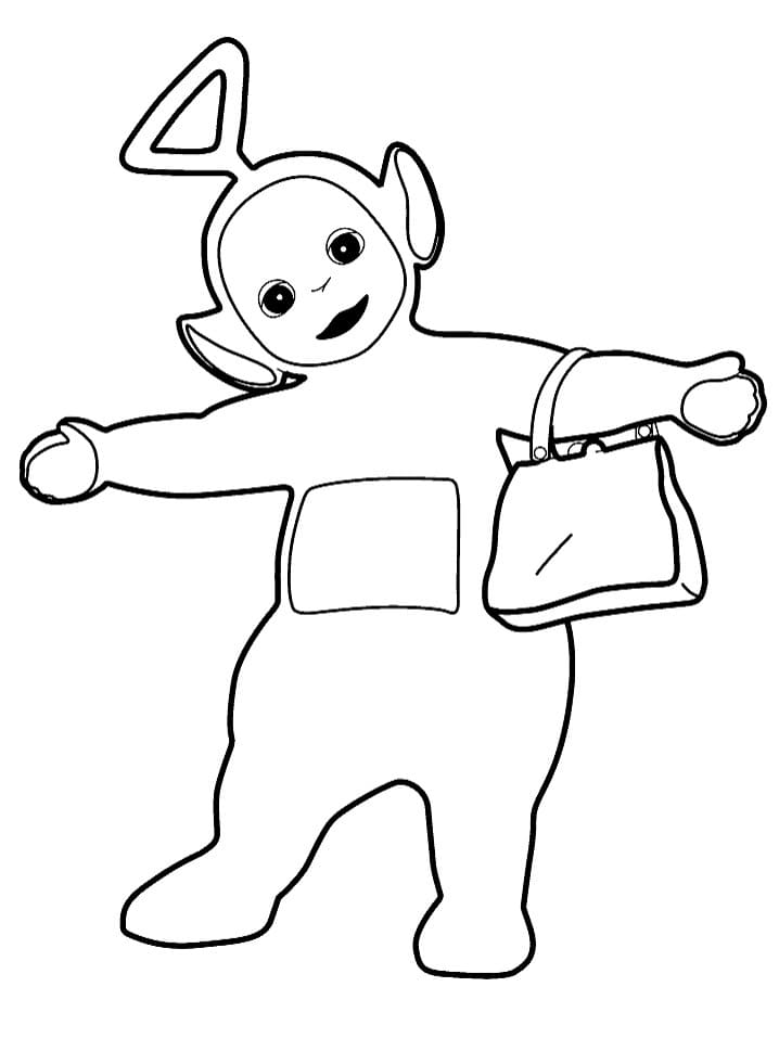 Desenhos de Tinky-Winky 4 para colorir