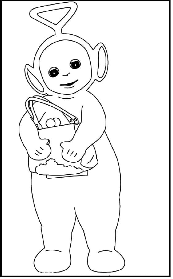 Desenhos de Tinky-Winky para colorir