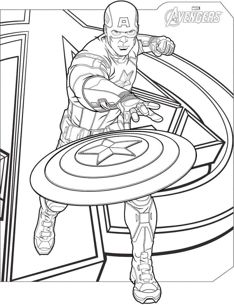 Desenhos de Avenger