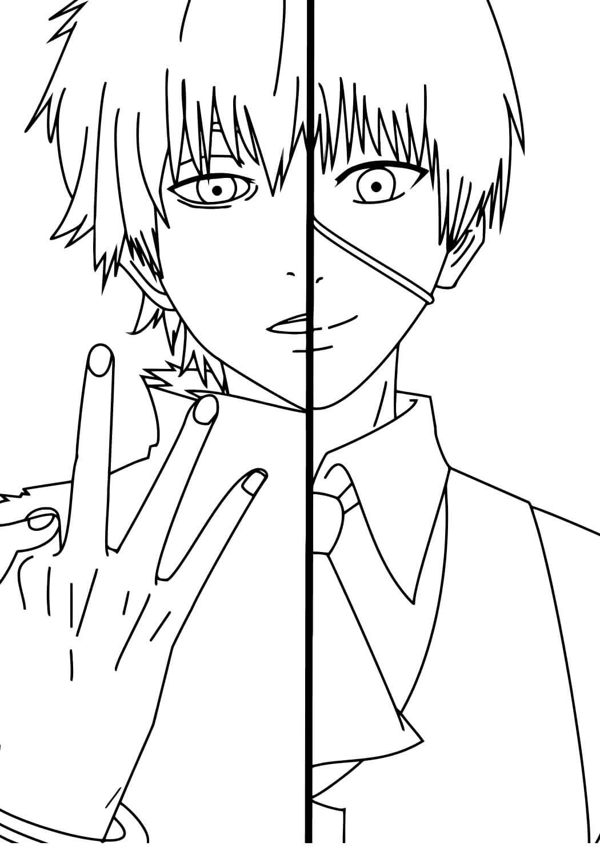 Desenhos de Kaneki Ken