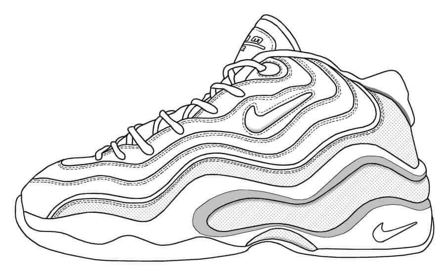Desenhos de Tênis
