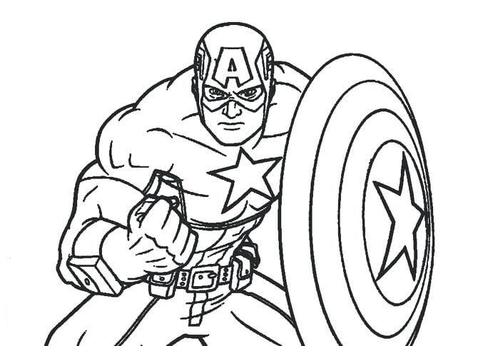 Capitão América Forte