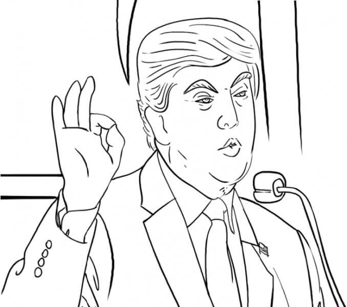 Donald Trump Diz Que Está Bem