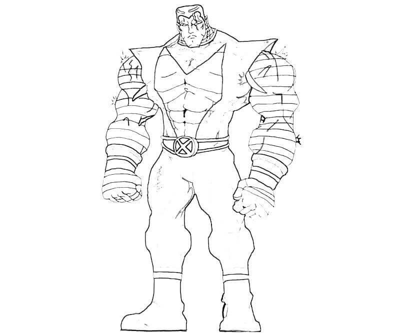 Desenhos de Homem De Ferro De X-Men para colorir