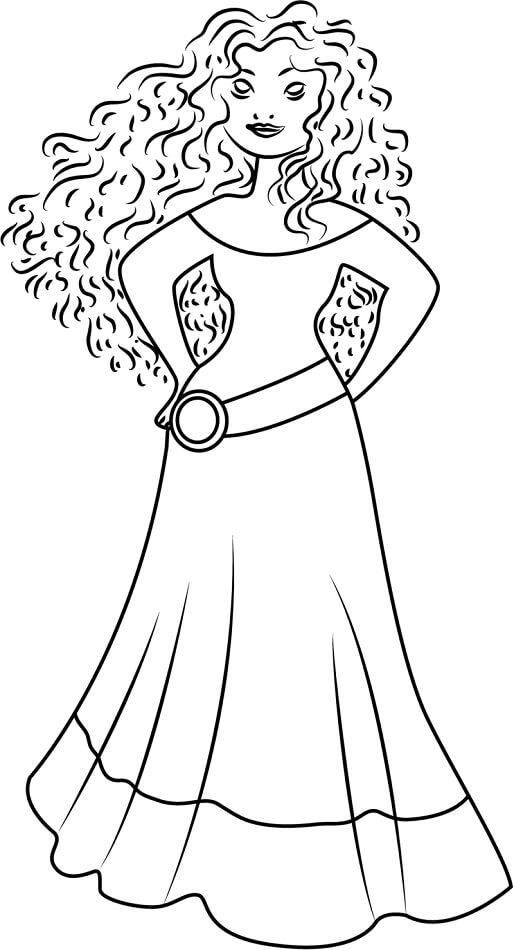Desenhos de Princesa Da Disney