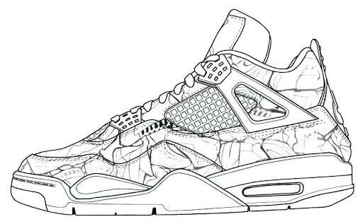 Desenhos de Melhores Sapatos para colorir