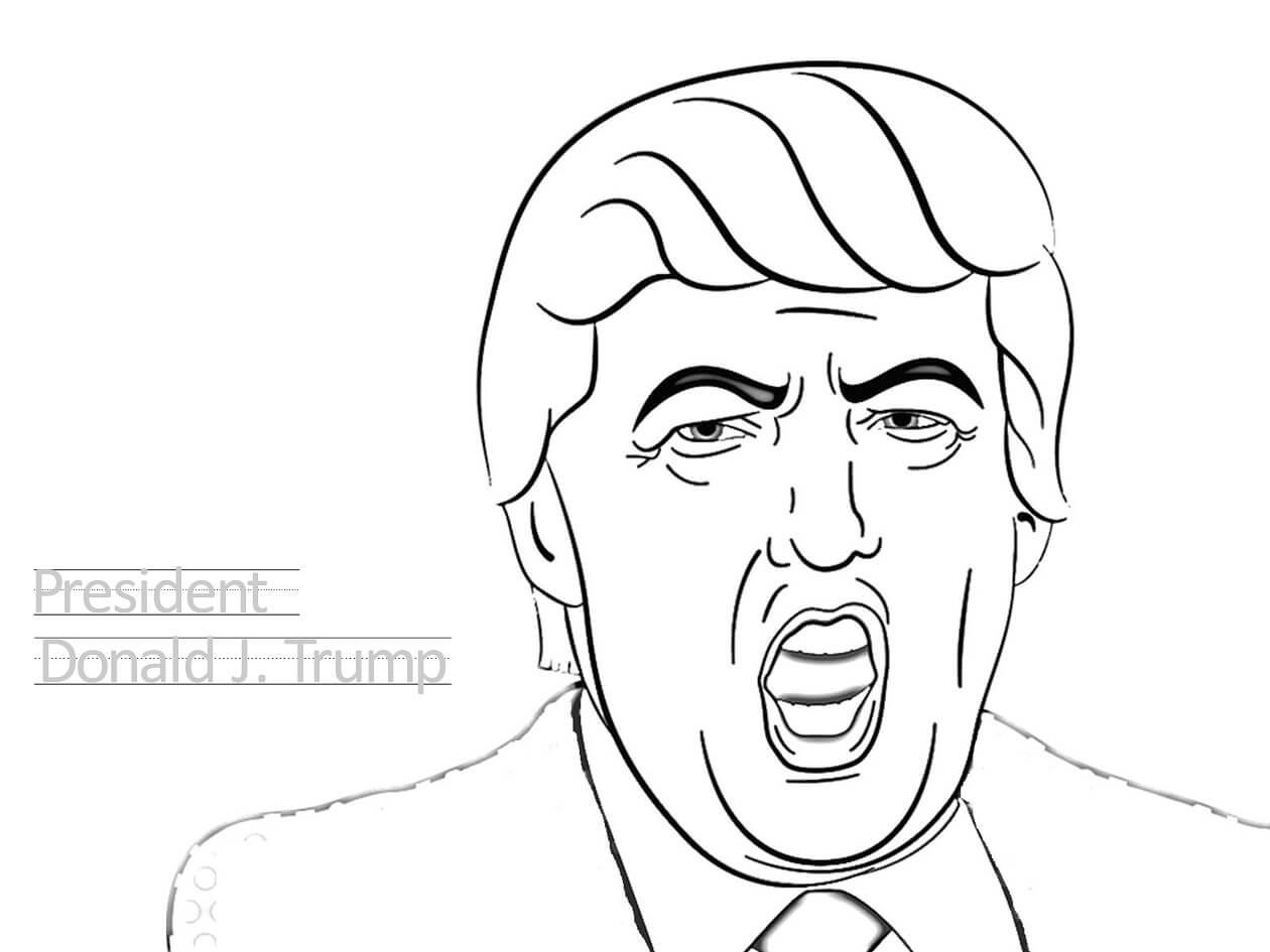 Momento Engraçado Com Donald Trump