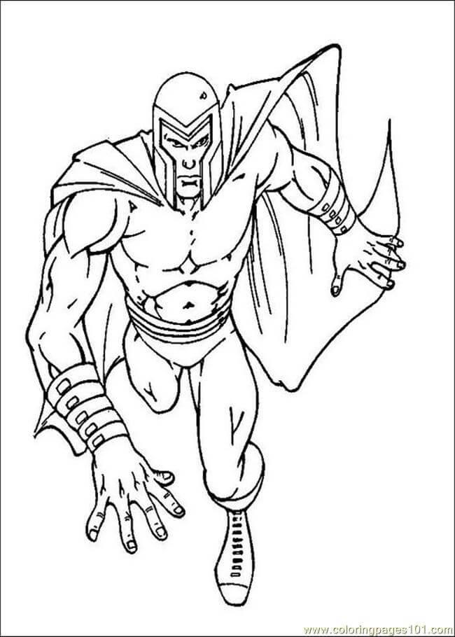Desenhos de X-men Velhos para colorir