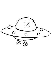Desenhos de Chibi UFO para colorir