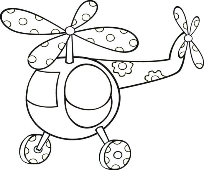 Helicóptero De Juguete