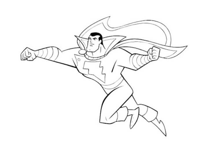 Desenhos de Shazam para Colorir