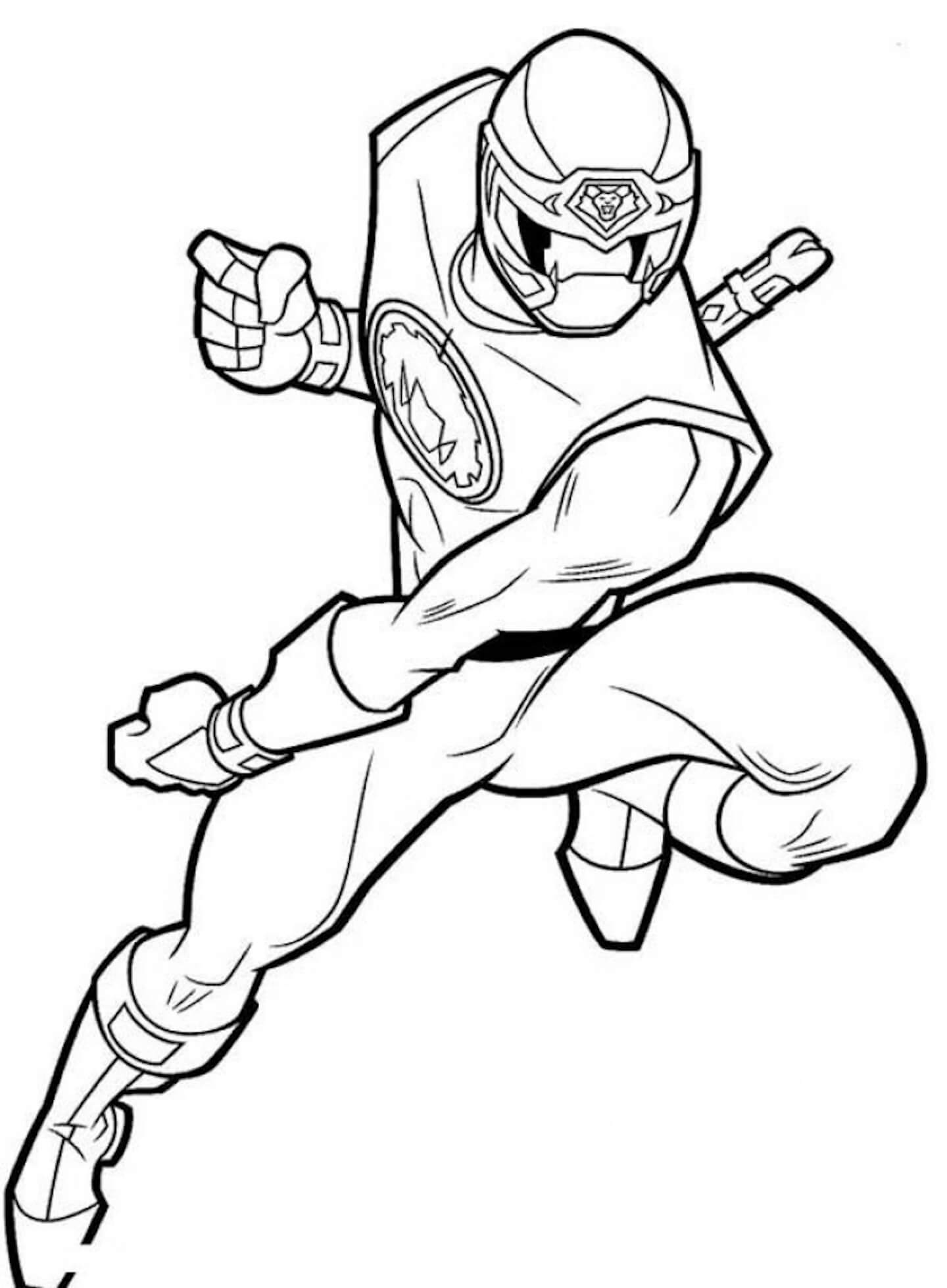 Desenhos de Super Sentai Ninja Hurricanger para colorir