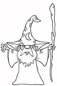 Desenhos de Viejo Mago Pequeño para colorir
