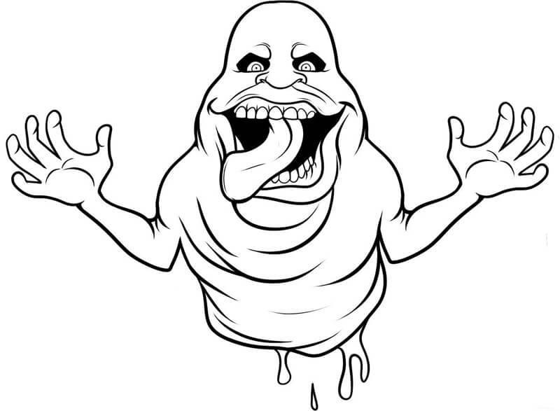 Desenhos de Apavorante Caça-Fantasmas para colorir