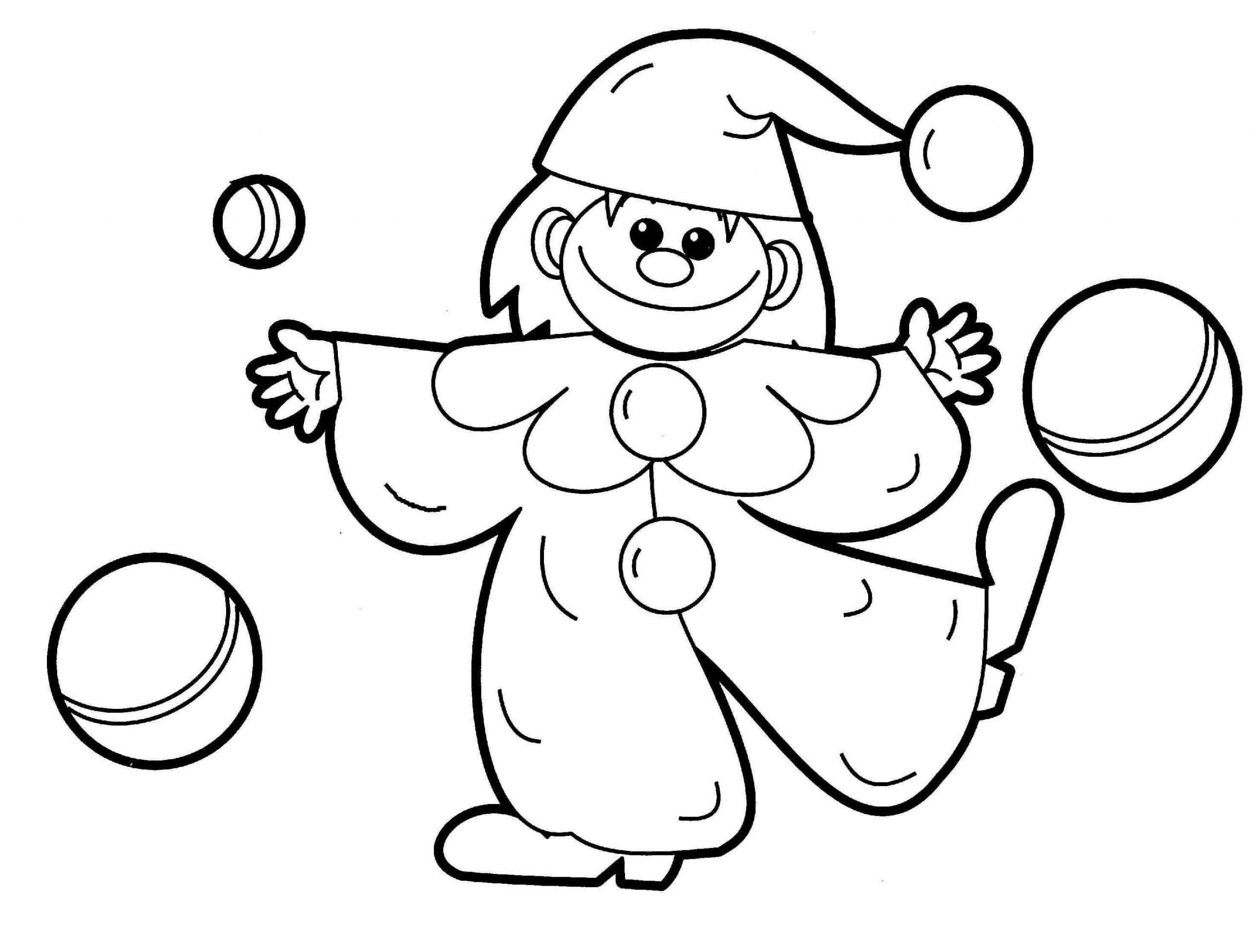 Desenhos de Brinquedos De Palhaço para colorir