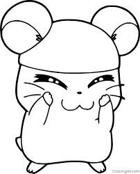 Desenhos de Cappy Hamster para colorir