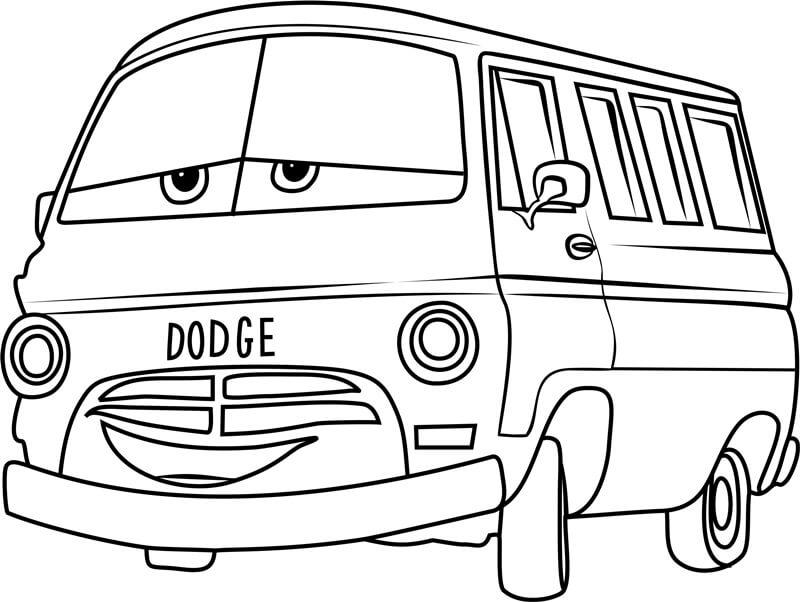 Desenhos de Dusty Rust Eze Nos Carros 3 para colorir