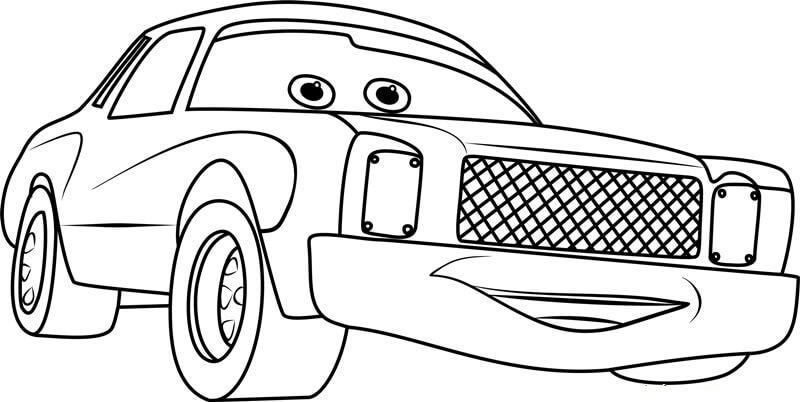 Desenhos de Feliz Darrell Cartrip para colorir