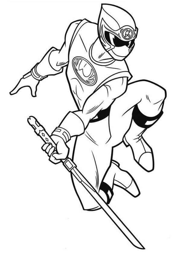 Desenhos de Furacão Ninja para colorir