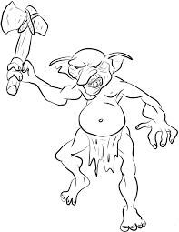Desenhos de Goblin para Colorir