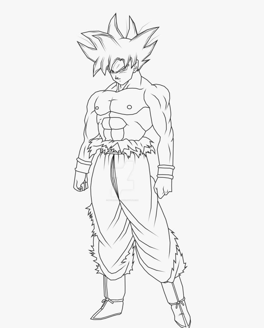 Desenhos de Goku