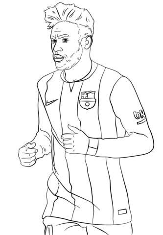 Desenhos de Grande Neymar para colorir