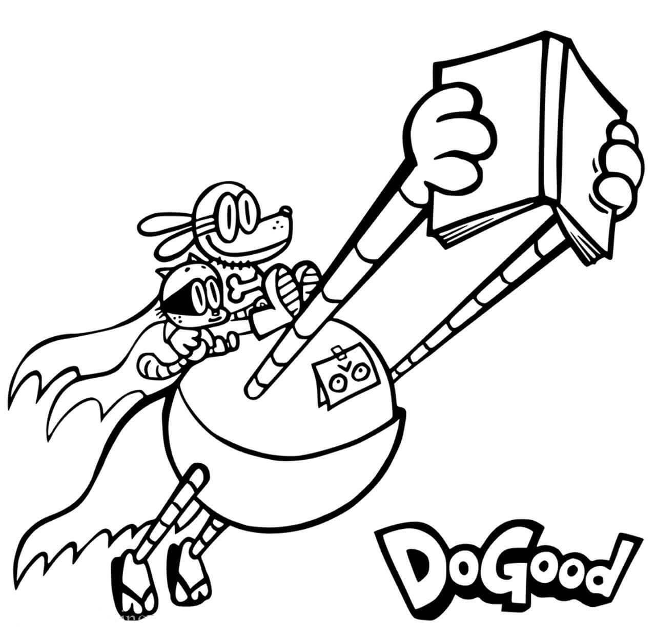 Homem Cachorro Voar