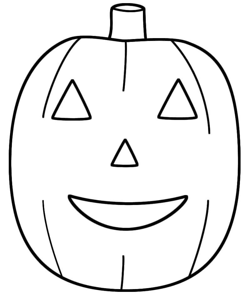 Desenhos de Lanterna De Jack o 'Básica para colorir