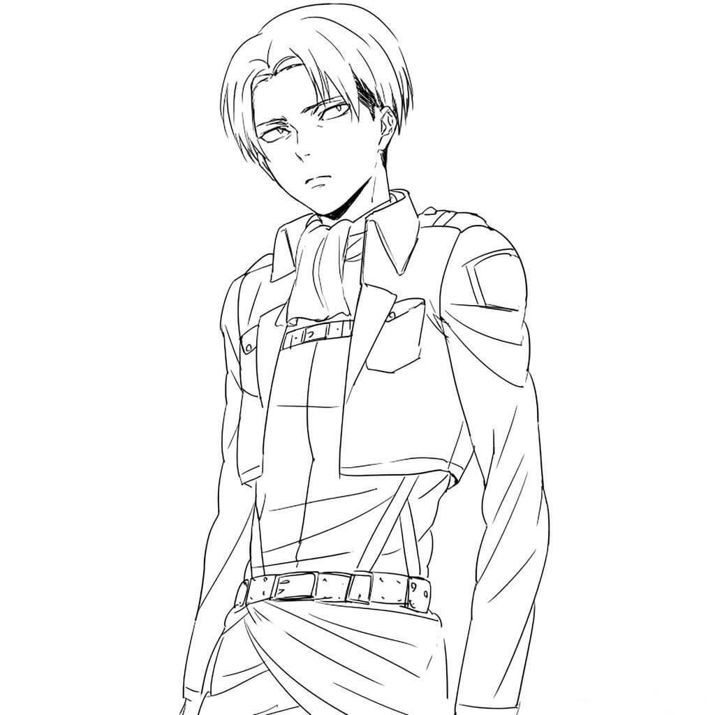 Desenhos de Levi Bonito para colorir