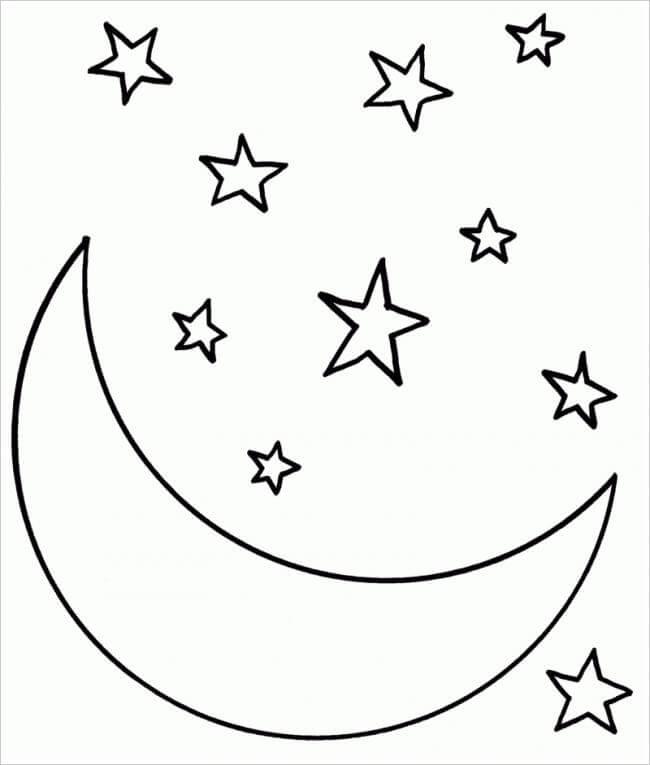 Desenhos de Estrela para Colorir