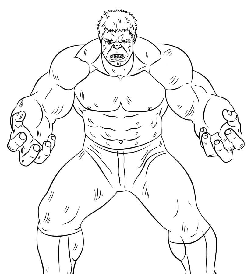 Desenhos de Hulk
