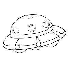 Desenhos de OVNI Legal para colorir
