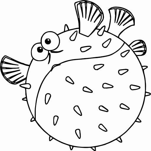 Desenhos de Peixe Nemo para colorir