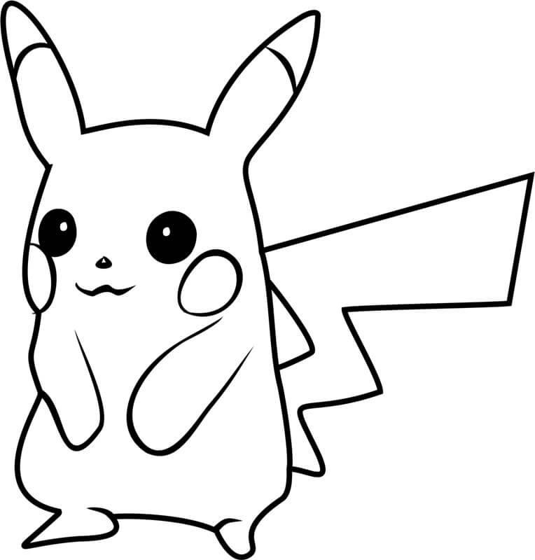 Pikachu Sorrindo