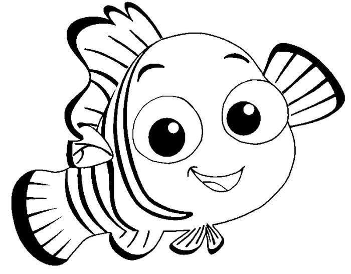 Desenhos de Procurando Nemo para colorir