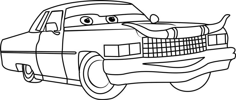 Desenhos de Tex Dinoco Sorrindo para colorir