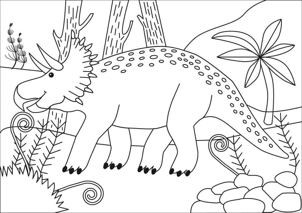 Triceratops Engraçado