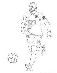 Wayne Rooney para Colorir