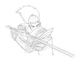Desenhos de Yasuo Brigando para colorir