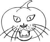 Desenhos de Abóbora para Colorir