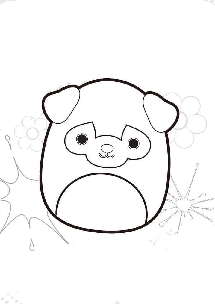 Desenhos de Squishmallows para Colorir
