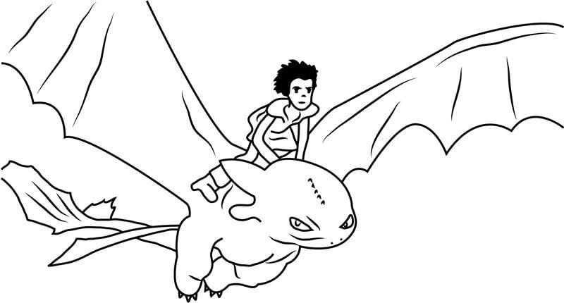 Desenhos de Hiccup para Colorir