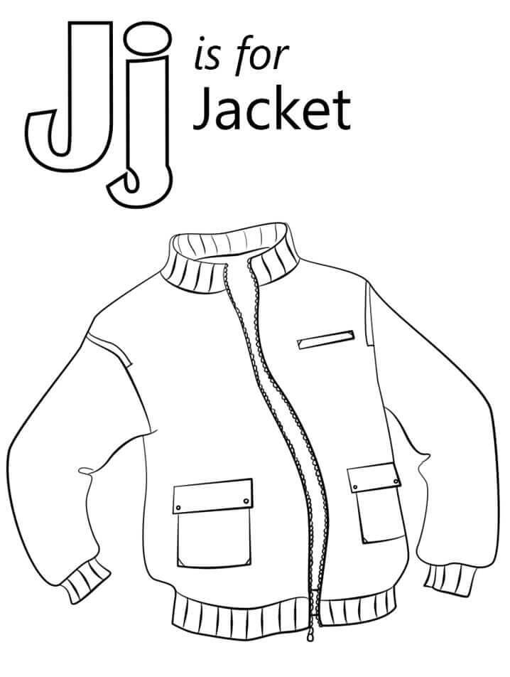 Jaqueta Letra J