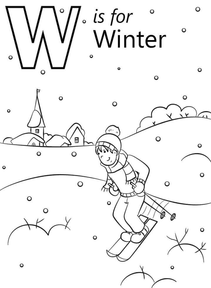 Letra De Inverno W